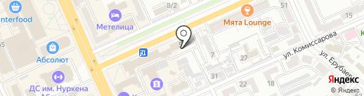 Техэнергосервис 2014, ТОО на карте Караганды