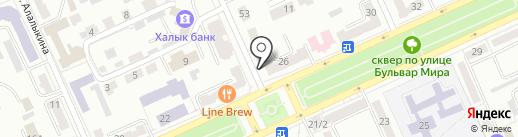 Кабинет косметолога Петько Елена на карте Караганды