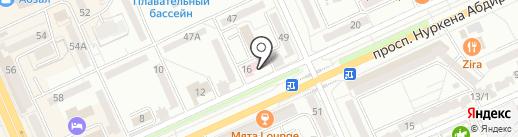 Логопедический кабинет на карте Караганды