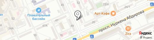 Нур Ломбард-2016, ТОО на карте Караганды