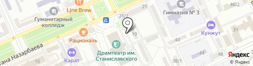 Юридическая компания на карте Караганды