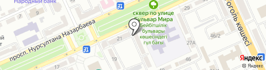 ЕмМАР, ТОО на карте Караганды