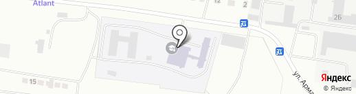 Карагандинский агротехнический колледж на карте Караганды