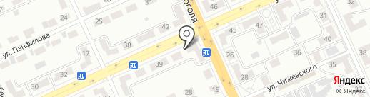 Домовой на карте Караганды