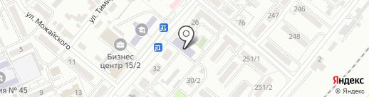 Колледж им. Д.А. Кунаева на карте Караганды