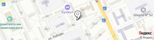 Intelbet на карте Караганды