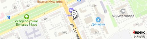 Нотариус Татиева К.Т. на карте Караганды