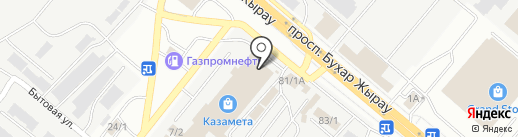 Kazameta на карте Караганды