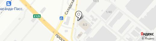 Алладин на карте Караганды