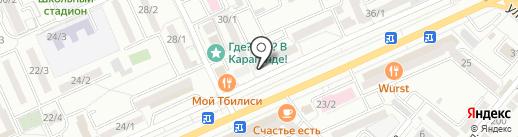 Золотник, ТОО на карте Караганды