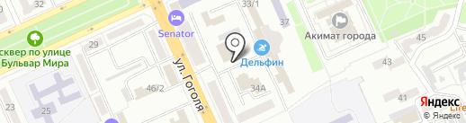 Prime на карте Караганды