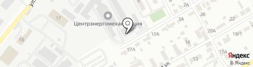 Карагандинский технико-строительный колледж на карте Караганды