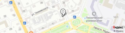 ЖРЭП-1, ТОО на карте Караганды