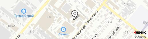 Магазин игрушек на карте Караганды