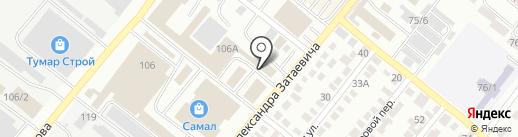 Хозторг на карте Караганды