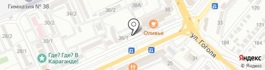 Эконом, ТОО на карте Караганды