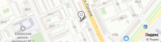 TENNISI.KZ на карте Караганды