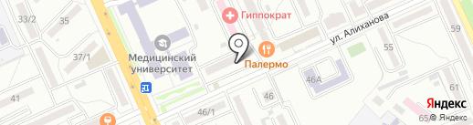 SotaComp на карте Караганды
