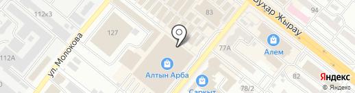 Бутик мужской одежды на карте Караганды