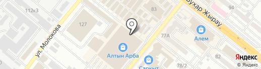 Major на карте Караганды