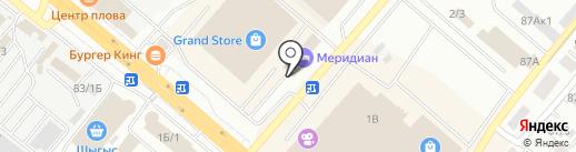 Club Bet на карте Караганды