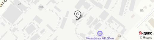 Компания по ремонту дизельных двигателей на карте Караганды