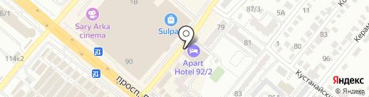 PMU studio Даны Бигожиной на карте Караганды