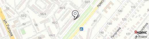 Магазин сотовых аксессуаров на карте Караганды