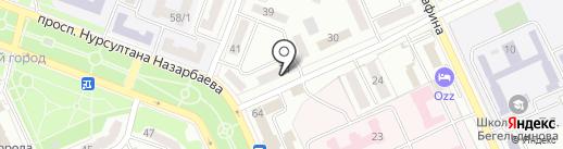 Ломбард-city, ТОО на карте Караганды