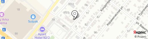 Базис-Эль, ТОО на карте Караганды