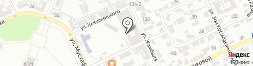 Международная академия боевых искусств на карте Караганды