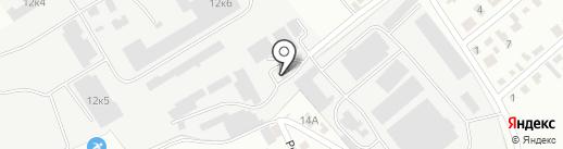 Компания Нур-Курылыс, ТОО на карте Караганды