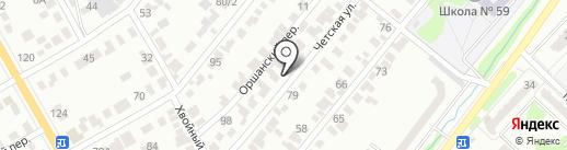 Гүлден на карте Караганды