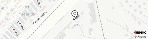KAZCHERMET-KARAGANDY, ТОО на карте Караганды