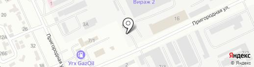RosKaz AvtoGaz на карте Караганды