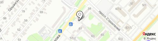 Овощной магазин на карте Караганды