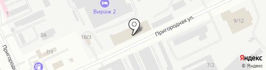 АБК на карте Караганды