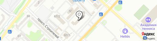 Магазин автозапчастей для Toyota, Lexus на карте Караганды