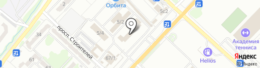 Дворники на карте Караганды