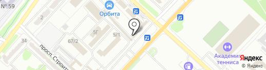 Магазин автозапчастей на карте Караганды