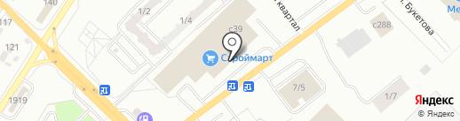 Магазин горячей кукурузы на карте Караганды