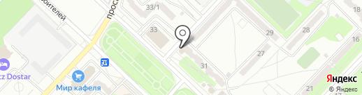 Миг на карте Караганды
