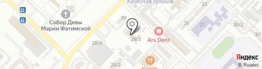 KazTerra Group, ТОО на карте Караганды
