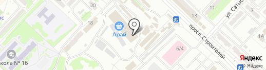 Ыдыс на карте Караганды