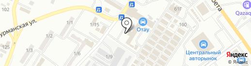 583 на карте Караганды