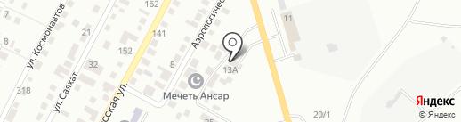 КазахПром на карте Караганды