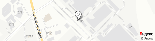 Компания ФудМастер-Трейд, ТОО на карте Караганды