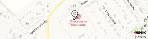 Горячеключевская участковая больница на карте Горячего Ключа