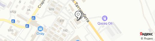 Renault на карте Караганды