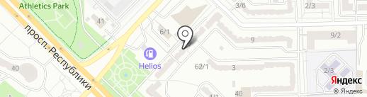 НПК АлГеоРитм, ТОО на карте Караганды